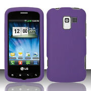 LG Optimus Slider Case Purple