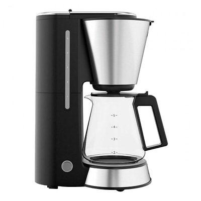 kaffeemaschine filter kaffee automat mit timer 10 tassen glaskanne wei neu. Black Bedroom Furniture Sets. Home Design Ideas