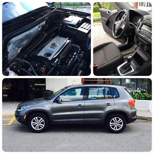 2013 Volkswagen Tiguan SUV, Crossover 50,000KM Under Warranty