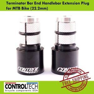 Controltech Terminator Bar End Handlebar Extension Plug for MTB Bike(22.2mm)