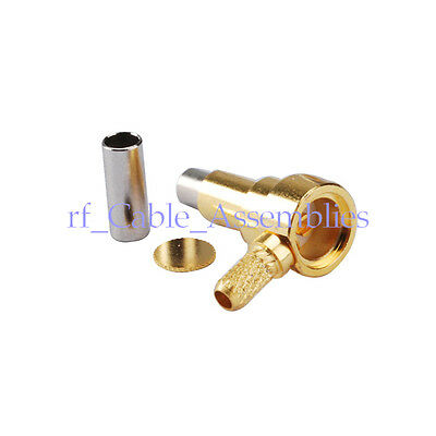 Test Probe Rf Connector Ms156 Mcc Plug Male Right Angle Crimp Rg316injection Mo