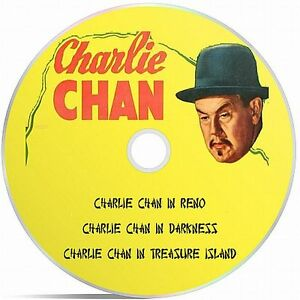 Charlie Chan Collection Public Domain films Converted To DVD Collection Six