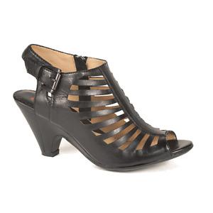 Women's Blondo Leather Sandals Black – Size 7.5 Wide