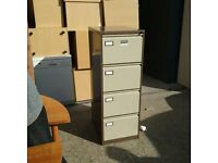 Roneo 4 drawer filing cabinet