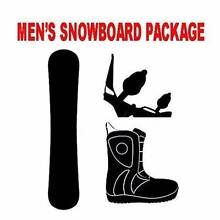 PRE-SALE Snowboard Package with Bindings & Boots ONLY $399 Dandenong South Greater Dandenong Preview