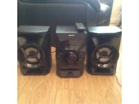Sony Home Audio System (hi-fi, cd and iPhone player)