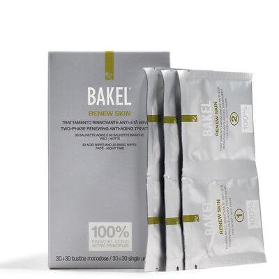 Bakel Two-Phase Renewing Anti-Ageing Treatment 30+30 Singh Use Sachets BNIB