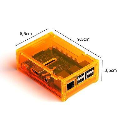Ultrakompakt auch im Gehäuse: Raspberry Pi 3