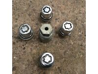 Ford Locking Wheel Nuts