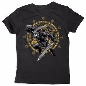 New sealed official t-Shirt - The Legend of Zelda: Twilight Princess T-Shirt - Stocking filler