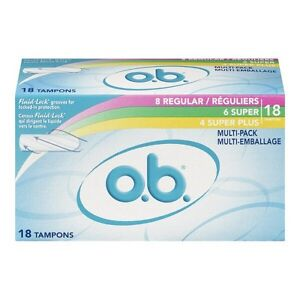 OB tampons 3 for $5
