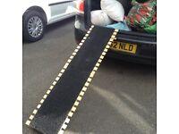 Dog ramp for car or van