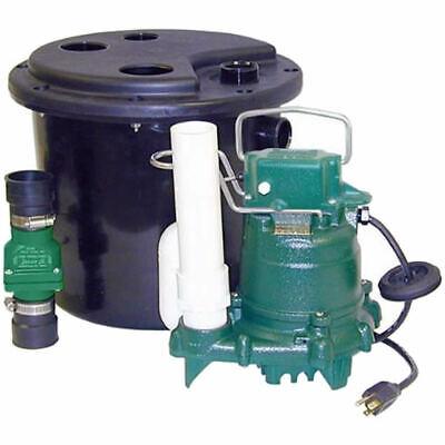 Zoeller 105-0001 - 13 Hp M53 Remote Sinkdrain Pump System W Vertical Flo...