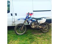 Yzf 250 2005 swap for 125