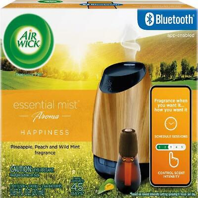 bluetooth connected diffuser air wick natural essentials