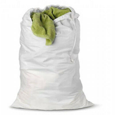 Bulk White Natural Canvas Cotton Sack Gift Make your own Easter Patchwork Bag  ()