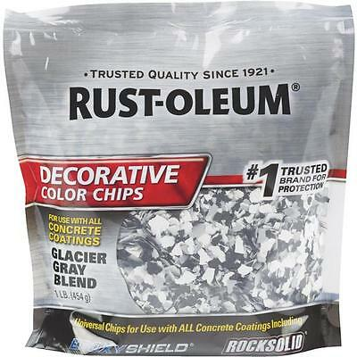 6 Pk Rust-oleum 1 Glacier Gray Color Chip Concrete Garage Floor Coating 312449