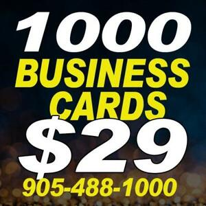 Business Cards  / Flyers / Same Day Printing /  Lock Boxes