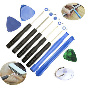 11 in 1 mobile repair opening tool kit set pry screwdriver for iphone 6 5s 5 4s. Black Bedroom Furniture Sets. Home Design Ideas