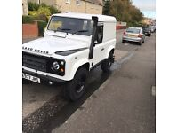 Land Rover defender 200tdi