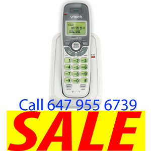 Vtech Cordless Phone With Caller ID CS6114, One Handset