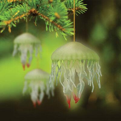 Brilla en la Oscuridad Medusa Vacaciones Ornamento Árbol de Navidad Novedad