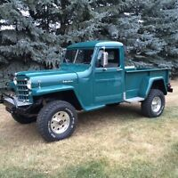 1952 WILLYS 4+4 PICKUP MODLE 452 ECI