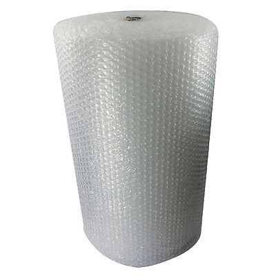 1 x Clear Small Bubble Wrap Roll - 1200mm x 100m