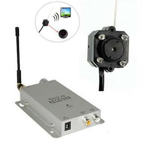 Mini camera couleur sans fil vision nocturne espion mini dv video surveillance ebay for Camera de surveillance interieur sans fil