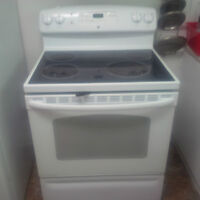 GE flat top stove - Must sell before July 8