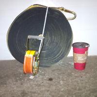 "Rachet Strap - 3"", 3300#, 175' long"