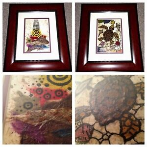 2 signed Fred Lorenzo Pieces