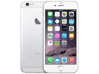 iPhone 6 16gb, white silver