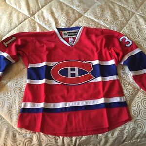 Montreal Canadiens Hockey Jersey Carey Price Size Large BNWT