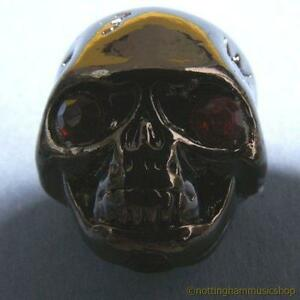 Black-demon-skull-knob-for-electric-or-bass-guitar-with-fixing-grub-screw-scull