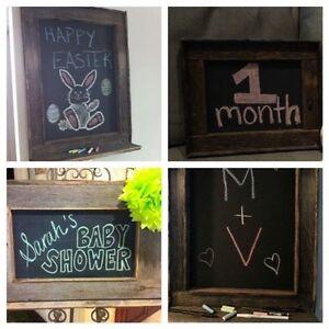 Barnboard menu/chalkboards! Featured all around the GTA Oakville / Halton Region Toronto (GTA) image 4