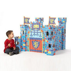 NEW: Colour On Play Castle -Now kids can colour on the walls