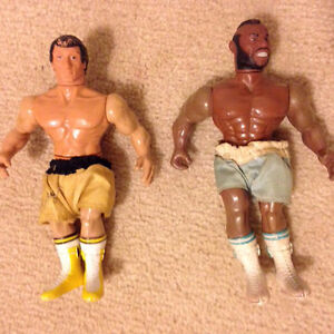 Vintage Rocky III - Rocky Balboa and Clubber Lang (Mr. T)