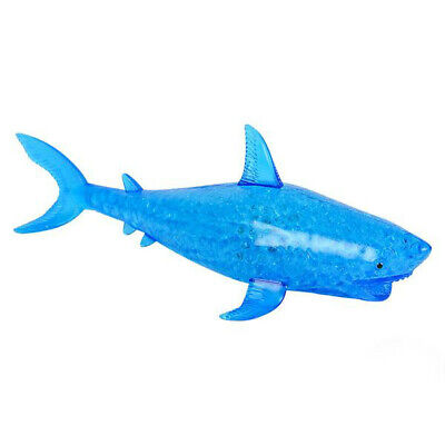 Light Up Squishy squeeze gel bead filled ball SHARK toy autism special needs - Squishy Ball