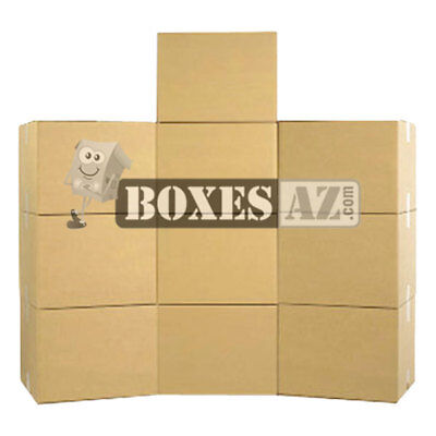 Moving Boxes - X-large Moving Boxes 23x23x16 10 - Delivered Free 1-3 Days