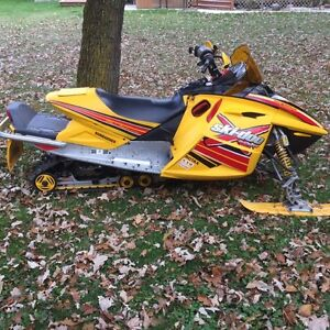 Very good condition 2004 Skidoo Mxz X Blair Morgan 800HO