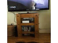 Solid wooden TV unit handmade Offers