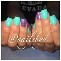 Gel nails ! Day & evening appts available!
