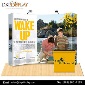 Look Good trade show displays with Custom Graphics