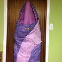 Girls Eureka Lady Bug Mummy Sleepingbag