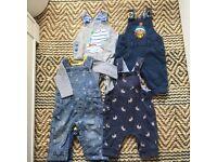 Baby boy clothes- 10 pieces