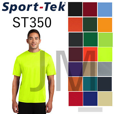 Dri Fit Shirt - Men's Sport Tek ST350 Dri-Fit Workout T-Shirt S-4XL