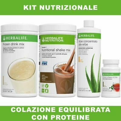 Colazione Equilibrata con Proteine Herbalife