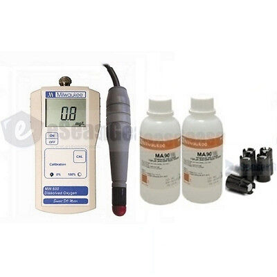 Milwaukee Mw600ma9070ma9071ma841 Dissolved Oxygen Do Meter Combo