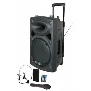 Boost Sound Portable Battery Powered Bluetooth PA System 700W Wireless Radio M